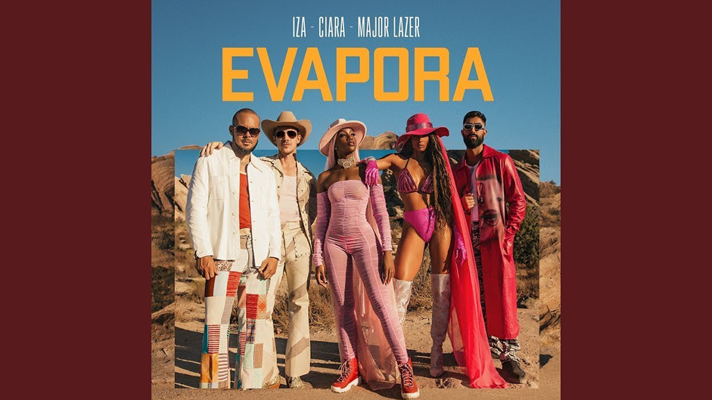 IZA, Сиара и Major Lazer в клипе «Evapora»
