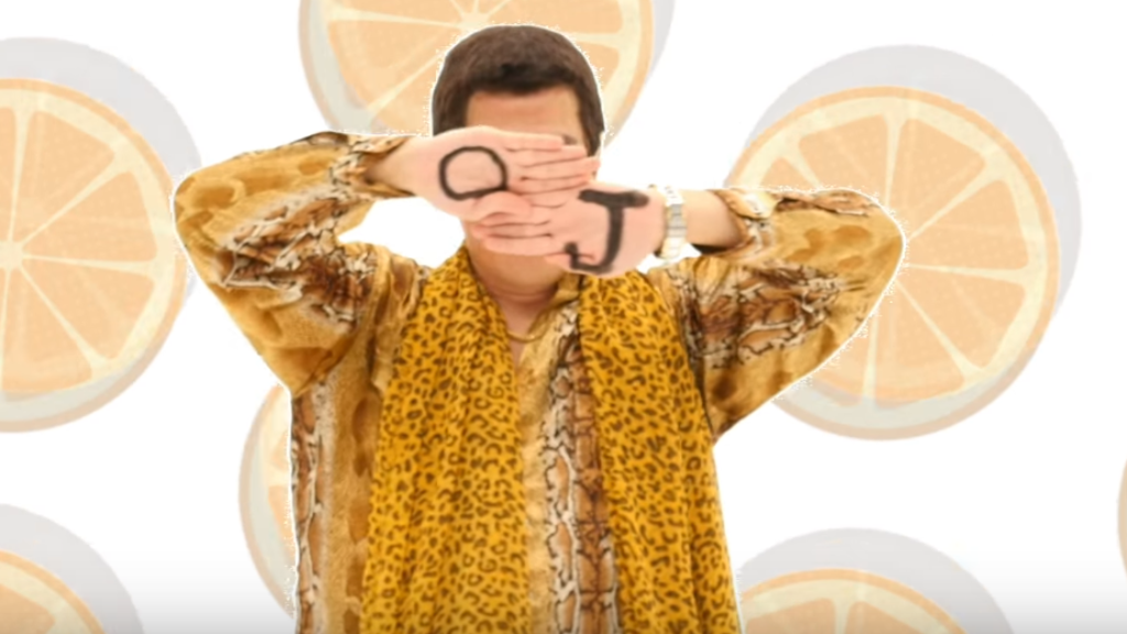 "Новый хит от автора ""Pen-Pineapple-Apple-Pen"""