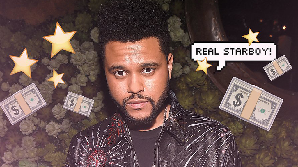 The Weeknd на обложке Forbes